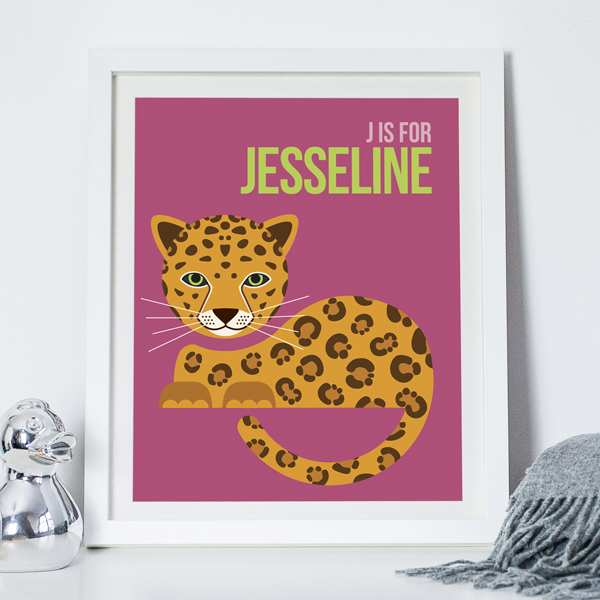J Is For Jaguar Purple Noths Jesseline