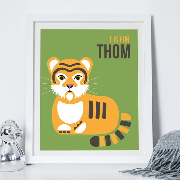 T Is For Tiger Green NOTHS Thom
