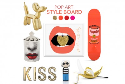 Pop Art Home Decor Inspiration | 5 ways to embrace Pop Art Décor!
