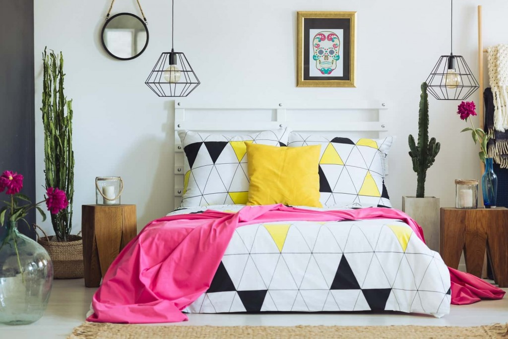 pop art bedroom decor ideas